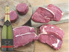 Picture of Steak and Sparkling Wine Box